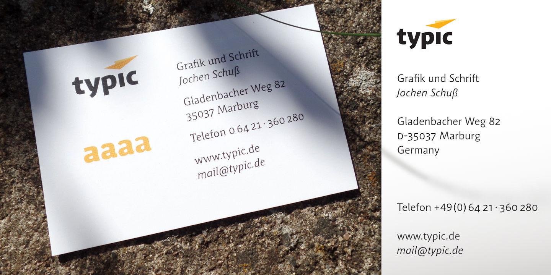 typic_Visitenkarte