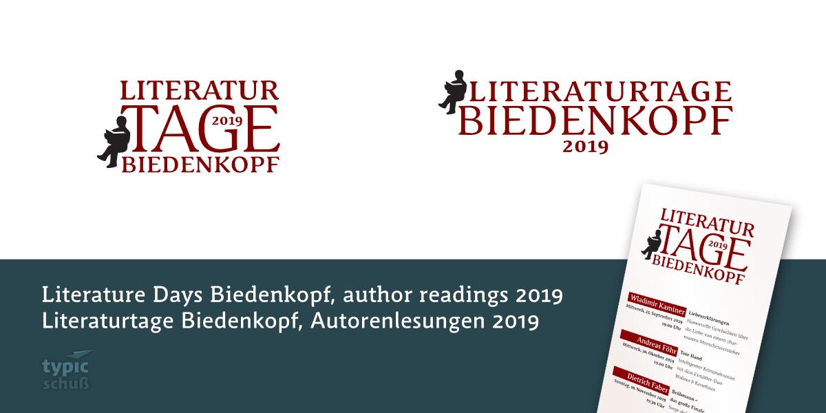 Literaturtage Biedenkopf 2019, Wladimir Kaminer, Andreas Föhr, Dietrich Faber