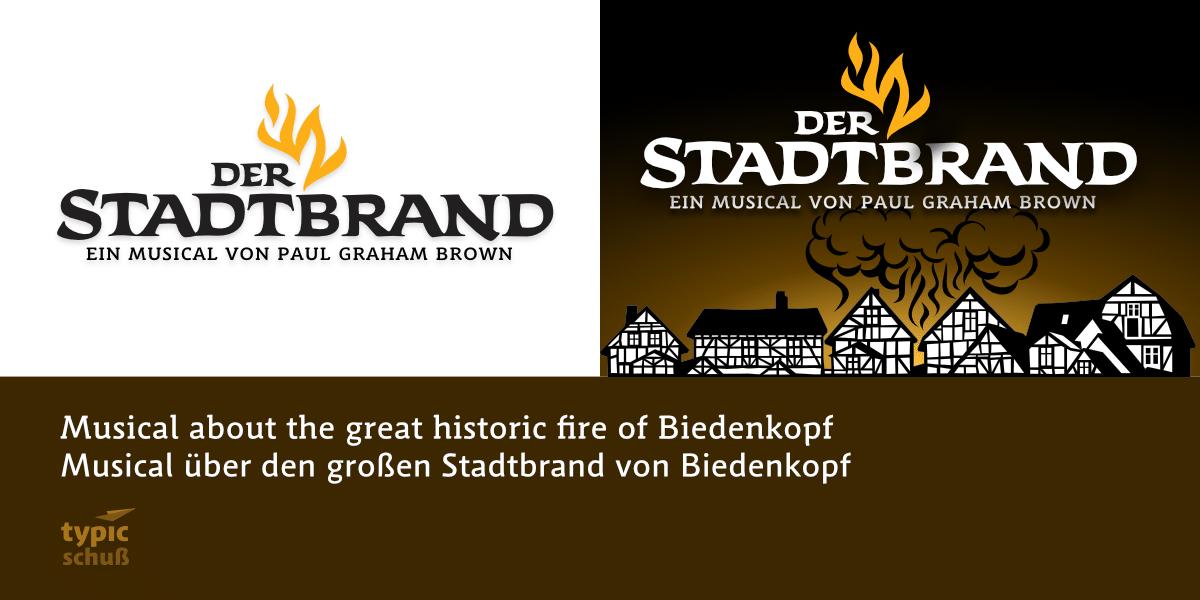 Schlossfestspiele Biedenkopf 2020 - Der Stadtbrand - ein Musical von Paul Graham Brown